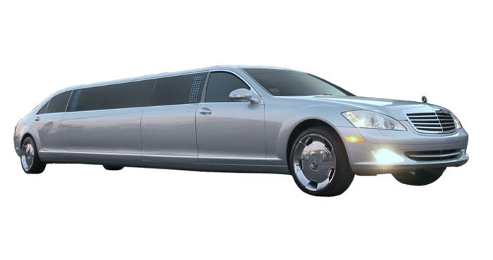 White_Rose_Mercedes_Benz_Limo